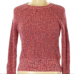 American Eagle | colorful knit pullover sweater